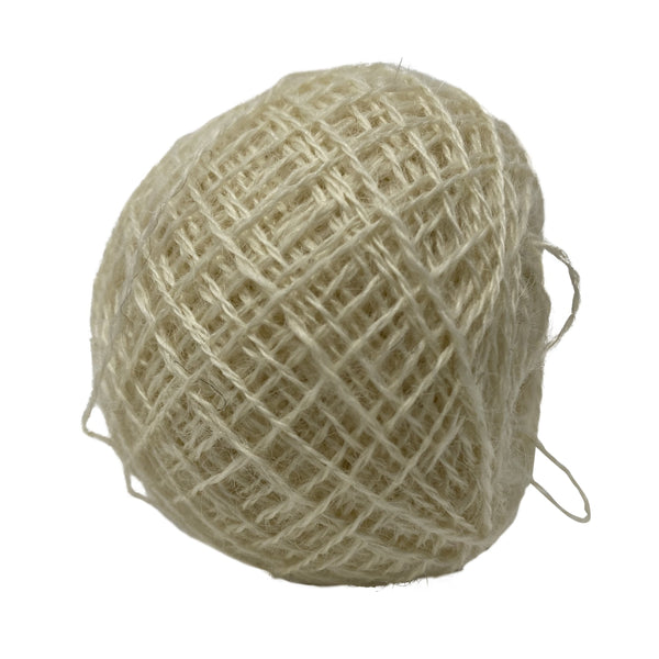 Pure Wensleydale Lace Weight  Approx 22g (0.78 oz)