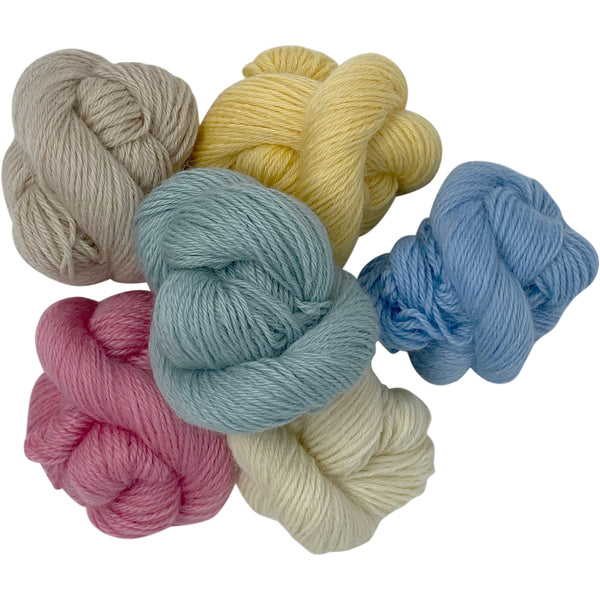 DK (8 Ply/Light Worsted) 50g (1.76 oz) Rare Breed Wensleydale and Bluefaced Leicester Burford Blue
