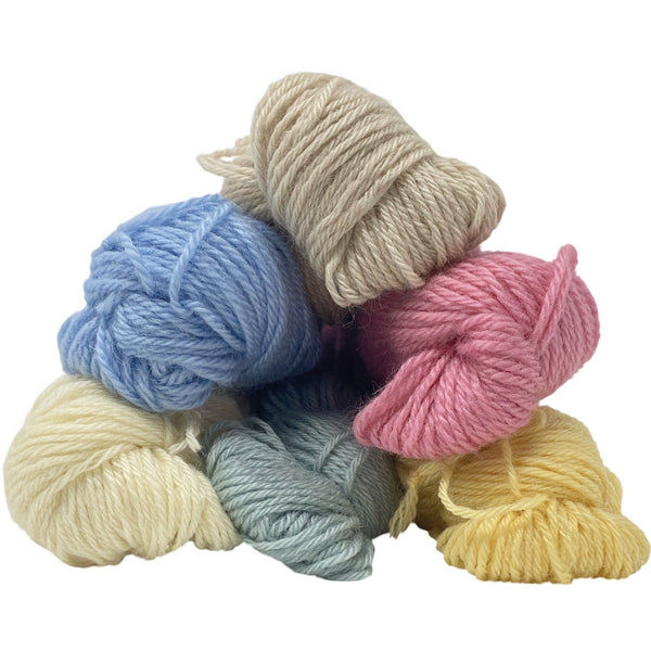 Burford Blue DK (8 Ply/Light Worsted) 50g (1.76 oz): Rare Breed Wensleydale and Bluefaced Leicester