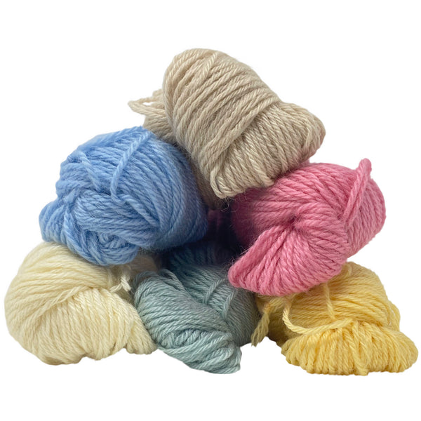 Natural DK (8 Ply/Light Worsted) 50g (1.76 oz):  Rare Breed Wensleydale and Bluefaced Leicester