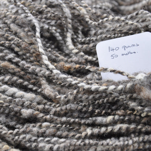 Hand spun - Hand spun Wensleydale & Bluefaced Leicester