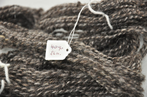 Hand spun - Wensleydale & Bluefaced Leicester