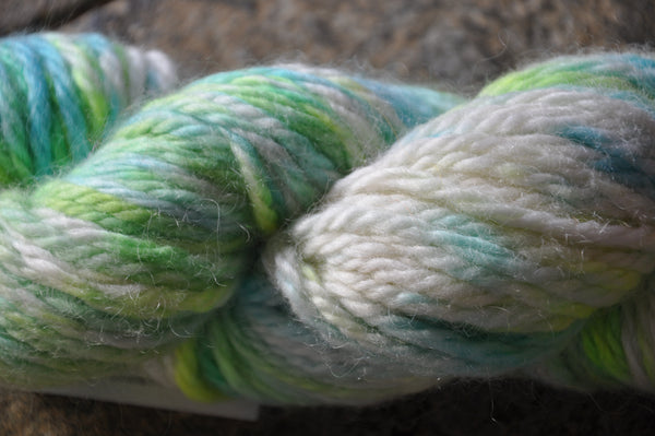 Hand Dyed Rare Breed Wensleydale and Bluefaced Leicester: (Big Wool/Bulky) 100g (3.53 oz)
