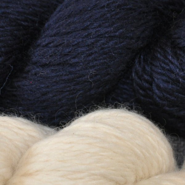 Bulky Wool 100g (3.52 oz): Rare Breed Wensleydale and Bluefaced Leicester Millhouse Blue