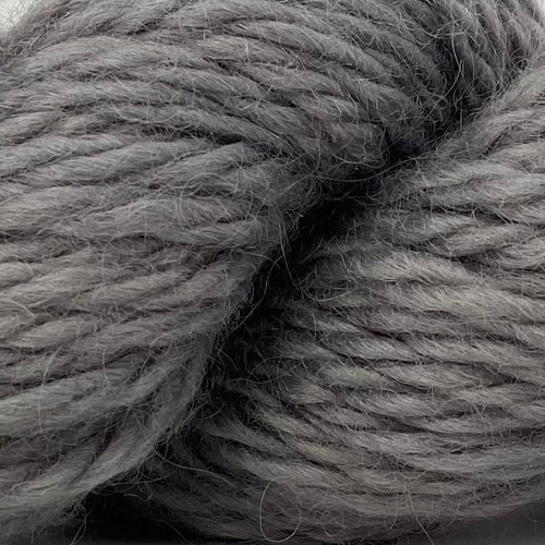 Bulky Wool 50g (1.76 oz): Rare Breed Wensleydale and Bluefaced Leicester Home Farm Grey