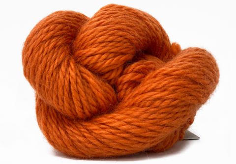 Bulky - Big Wool - Tangerine - Rare Breed Wensleydale and Bluefaced Leicester 50g (1.76 oz)