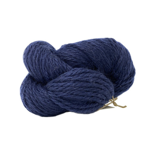 Millhouse Blue Bulky Wool 100g (3.52 oz): Rare Breed Wensleydale and Bluefaced Leicester