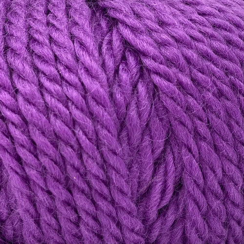 Bulky - Big Wool - Boysenberry - Rare Breed Wensleydale and Bluefaced Leicester 100g (3.52 oz)