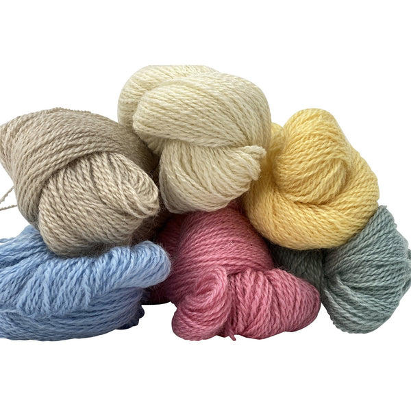 Arlescote Blush 4ply (Fingering/Sports Weight) 50g (1.76 oz): Rare Breed Wensleydale and Bluefaced Leicester