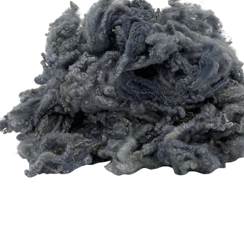Hand Dyed Bluefaced Leicester fleece - Granite