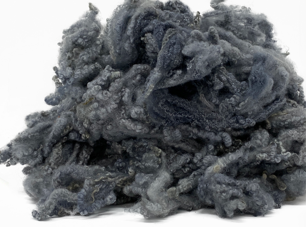 Hand Dyed Bluefaced Leicester fleece - 15 Mixed Colour pack