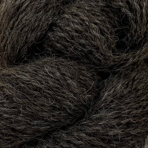Black Wensleydale: Naturally Coloured (4ply/Fingering/Sports Weight) 50g (1.76 oz) rare