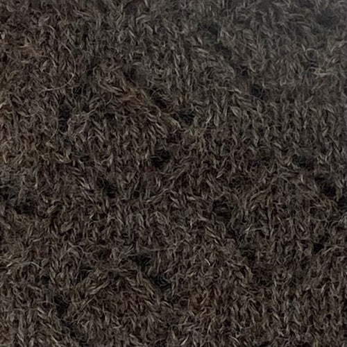Sample - rare breed black wensleydale wool from Home Farm Wensleydales, knitting wool