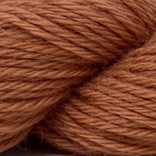 Home Farm collection - Burnt Umber DK (8 Ply/Light Worsted) 50g (1.76 oz): Rare Breed Wensleydale and Bluefaced Leicester