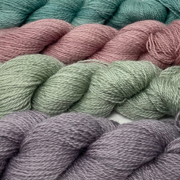Cardigan Bay collection - 4ply (Fingering/Sports Weight) 50g (1.76 oz): Rare Breed Wensleydale and Bluefaced Leicester  Ocean