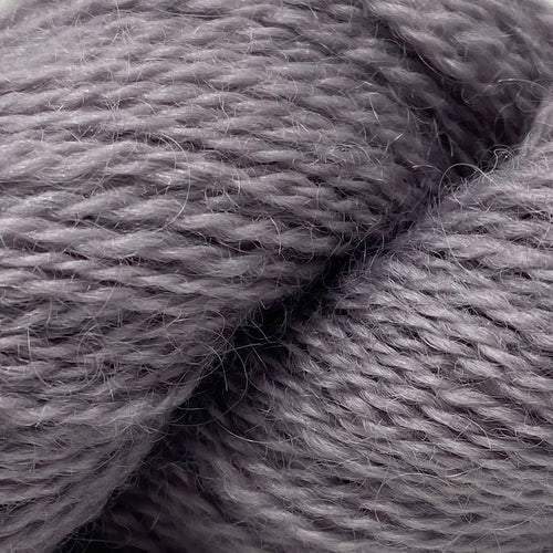 Cardigan Bay collection - 4ply (Fingering/Sports Weight) 50g (1.76 oz): Rare Breed Wensleydale and Bluefaced Leicester Faded Damson