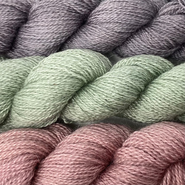 Cardigan Bay collection - 4ply (Fingering/Sports Weight) 50g (1.76 oz): Rare Breed Wensleydale and Bluefaced Leicester Sorbet