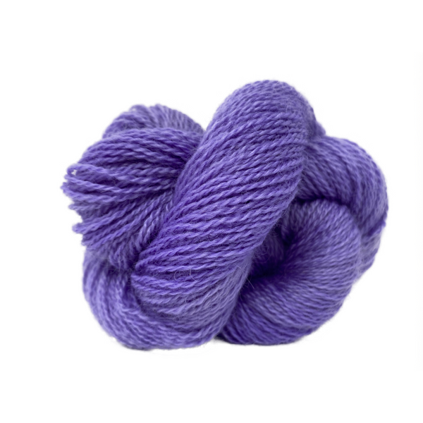 Home Farm collection - 4 Ply (Fingering/Sports Weight) 50g (1.76 oz): Rare Breed Wensleydale and Bluefaced Leicester Cyclamin