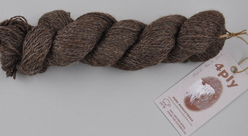 Incredibly Rare - Black Wensleydale: Naturally Coloured (4ply/Sports Weight)