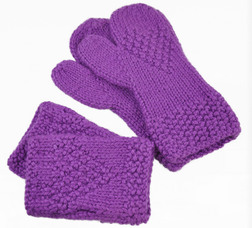 Woodford Mitts and Wrist Warmers