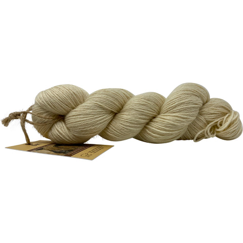 Natural DK (8 Ply/Light Worsted) 100g (3.53 oz):  Rare Breed Wensleydale and Bluefaced Leicester