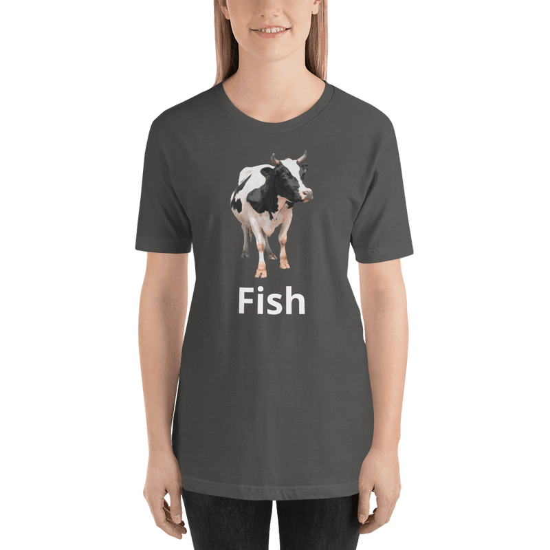 Meme.Shopping Fish? Asphalt / 2XL