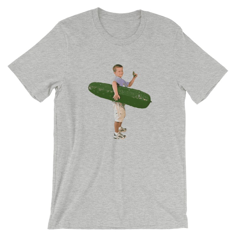 Meme.Shopping Pickle Boy Athletic Heather / 3XL