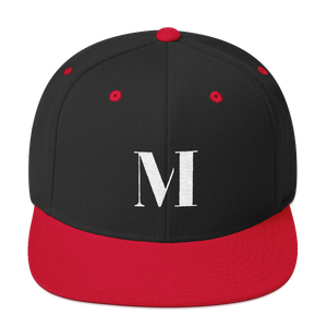 Meme.Shopping Meme Insider Snapback Hat Black/ Red