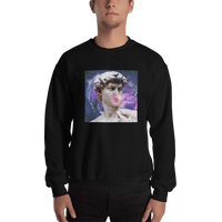 Meme.Shopping Poppin Sweatshirt Black / 2XL