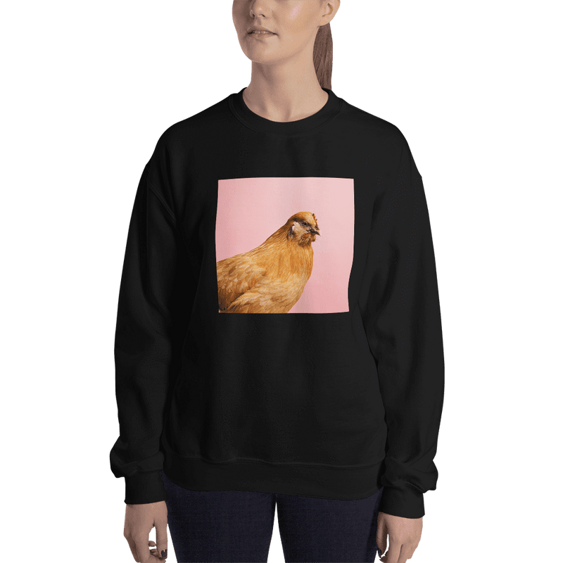 Meme.Shopping Wing-It Sweatshirt Black / 2XL