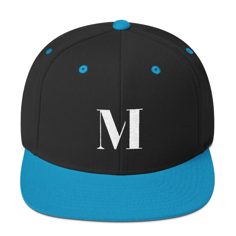 Meme.Shopping Meme Insider Snapback Hat Black/ Teal