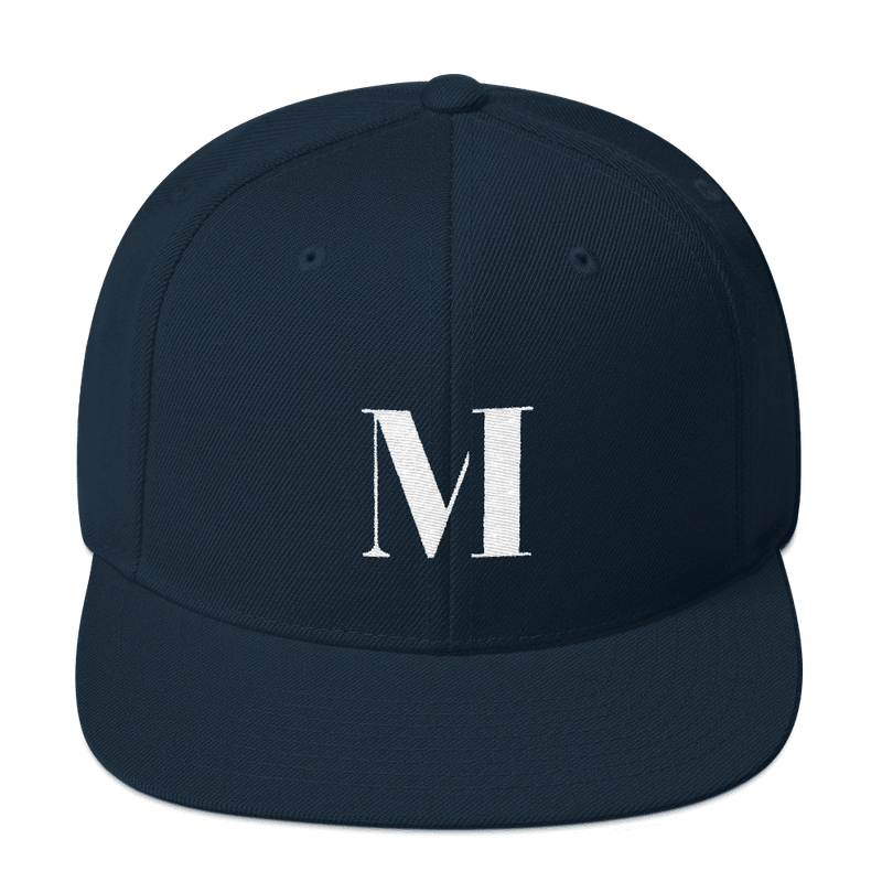 Meme.Shopping Meme Insider Snapback Hat Dark Navy