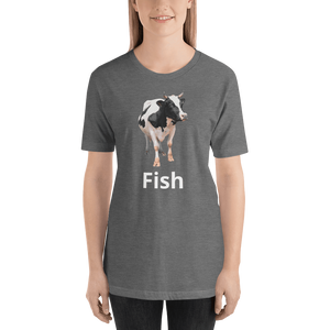 Meme.Shopping Fish? Deep Heather / 2XL