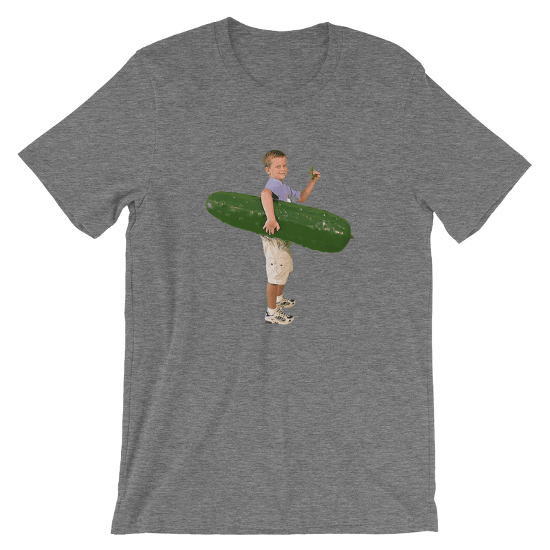 Meme.Shopping Pickle Boy Deep Heather / 3XL