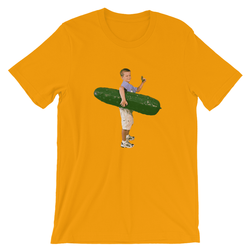 Meme.Shopping Pickle Boy Gold / 3XL