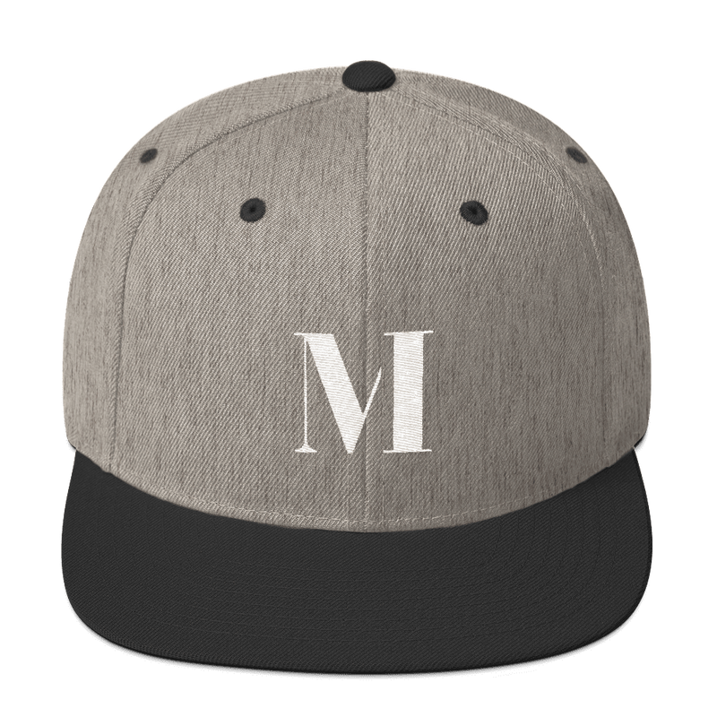 Meme.Shopping Meme Insider Snapback Hat Heather/Black