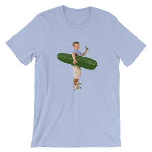 Meme.Shopping Pickle Boy Heather Blue / 3XL