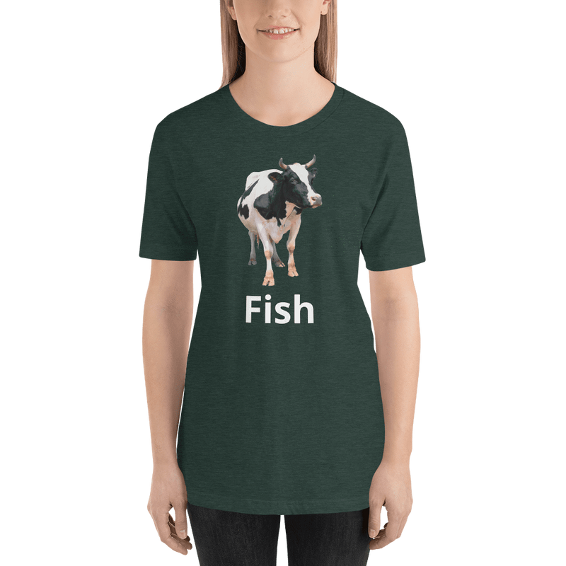 Meme.Shopping Fish? Heather Forest / 2XL