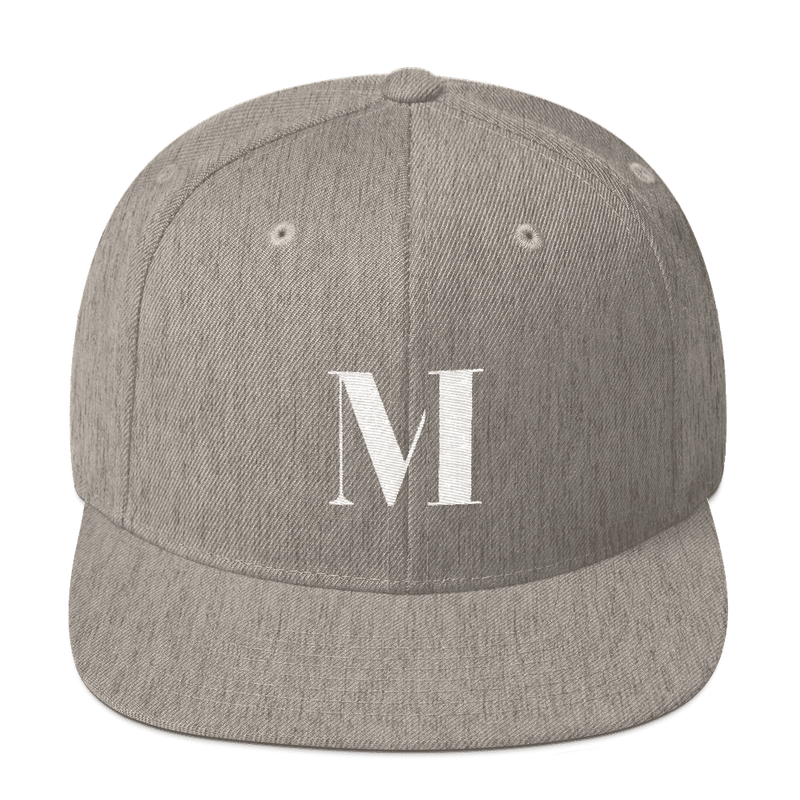 Meme.Shopping Meme Insider Snapback Hat Heather Grey