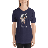 Meme.Shopping Fish? Heather Midnight Navy / 2XL