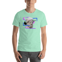 Meme.Shopping Modern Past Heather Mint / 2XL