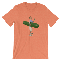 Meme.Shopping Pickle Boy Heather Orange / 3XL