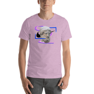 Meme.Shopping Modern Past Heather Prism Lilac / 2XL