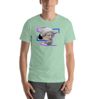 Meme.Shopping Modern Past Heather Prism Mint / 2XL