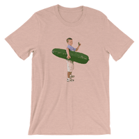 Meme.Shopping Pickle Boy Heather Prism Peach / 3XL