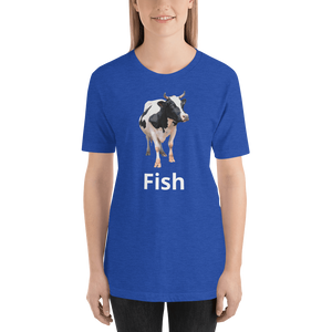Meme.Shopping Fish? Heather True Royal / 2XL