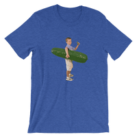 Meme.Shopping Pickle Boy Heather True Royal / 3XL