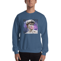 Meme.Shopping Poppin Sweatshirt Indigo Blue / 2XL