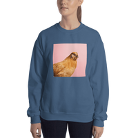 Meme.Shopping Wing-It Sweatshirt Indigo Blue / 2XL