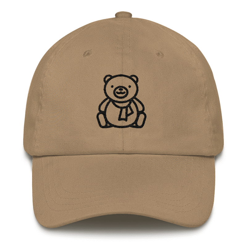 Meme.Shopping Christmas Teddy Dad hat Khaki